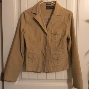 Corduroy Fitted Jacket